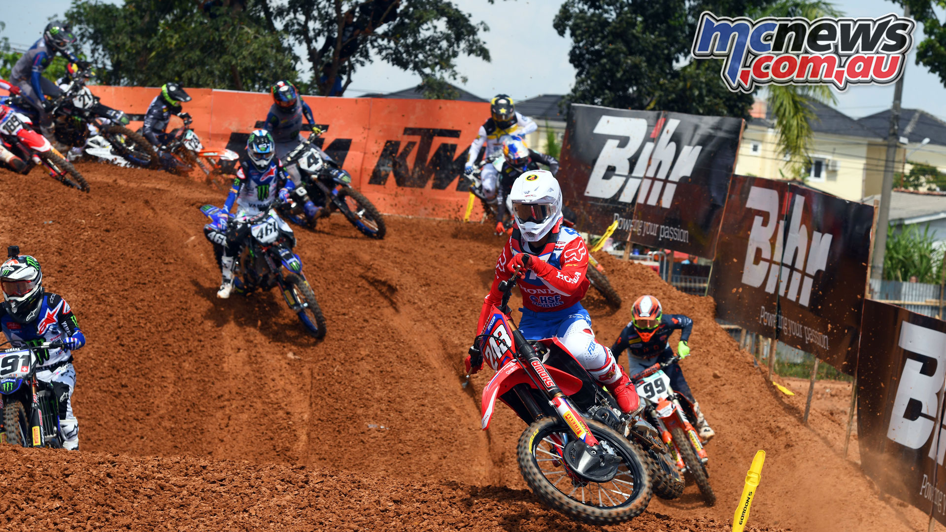 MXGP Indonesia MX Gajser start