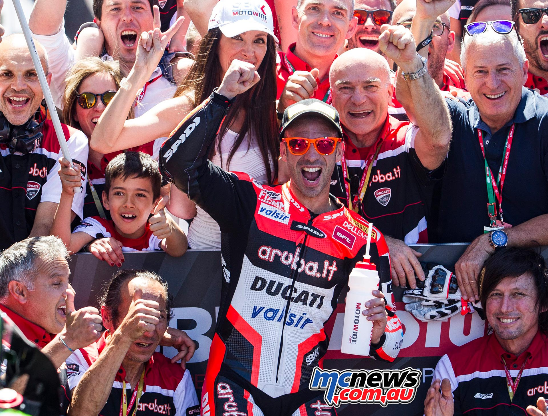 Marco Melandri takes 100th Italian victory at Misano