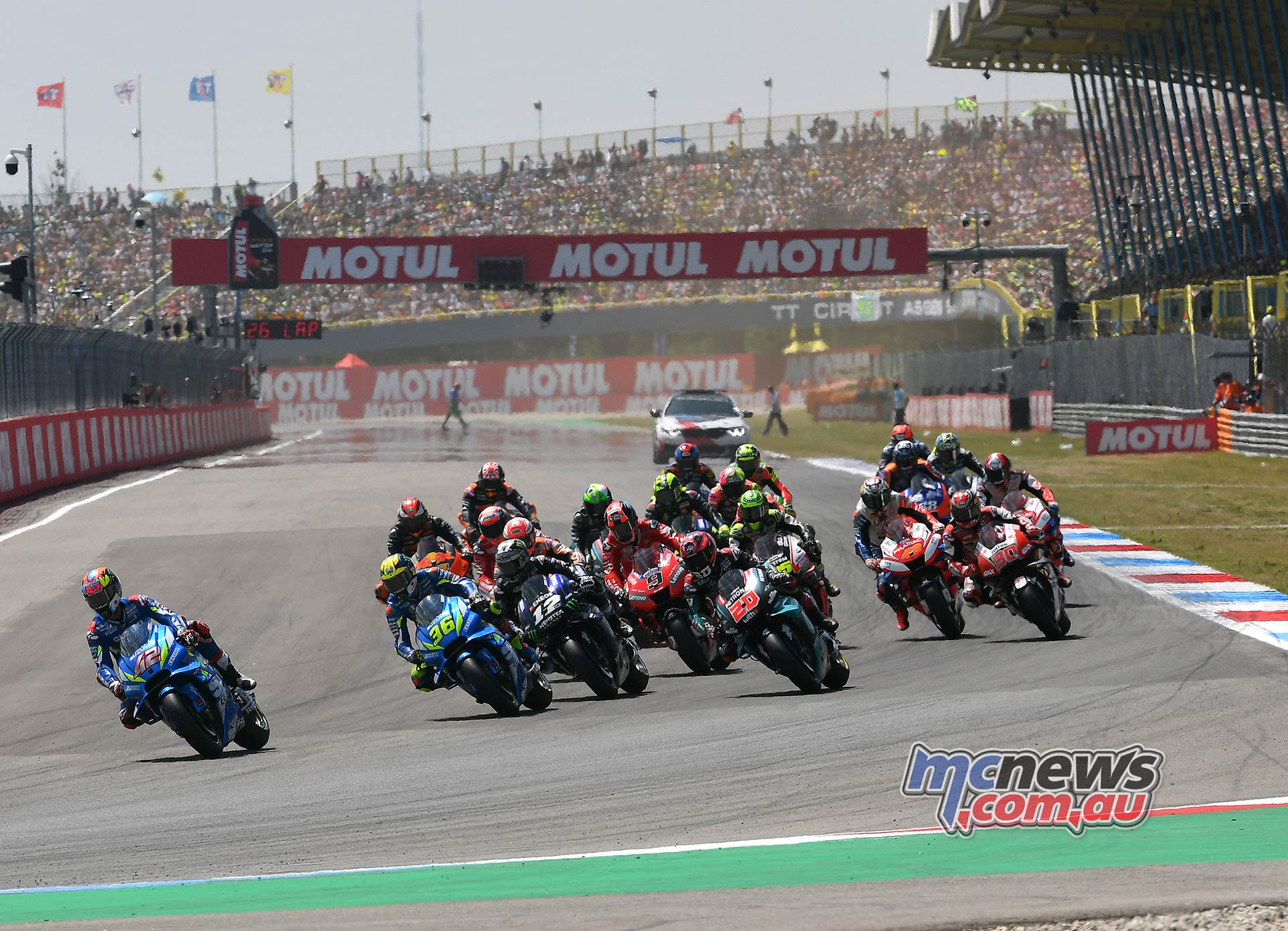 MotoGP Rnd Assen Race Start