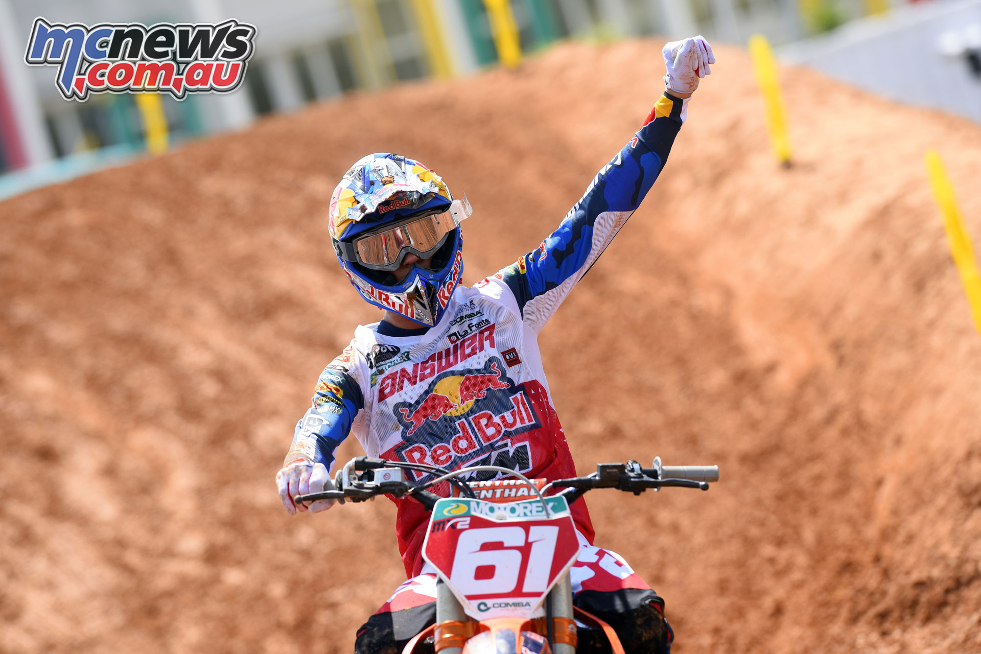 MXGP Indonesia MX Prado finish