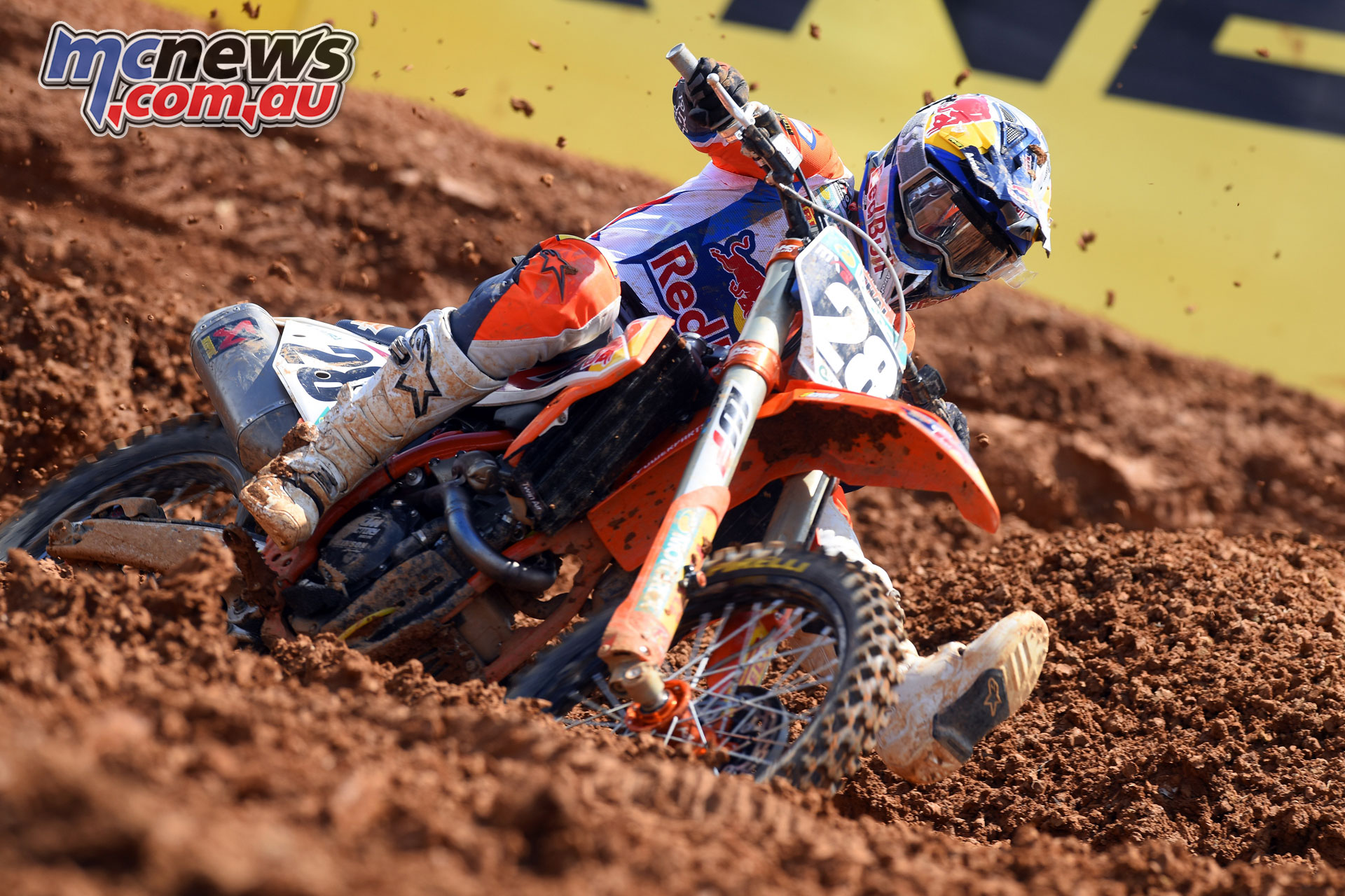 MXGP Indonesia MX Vialle action