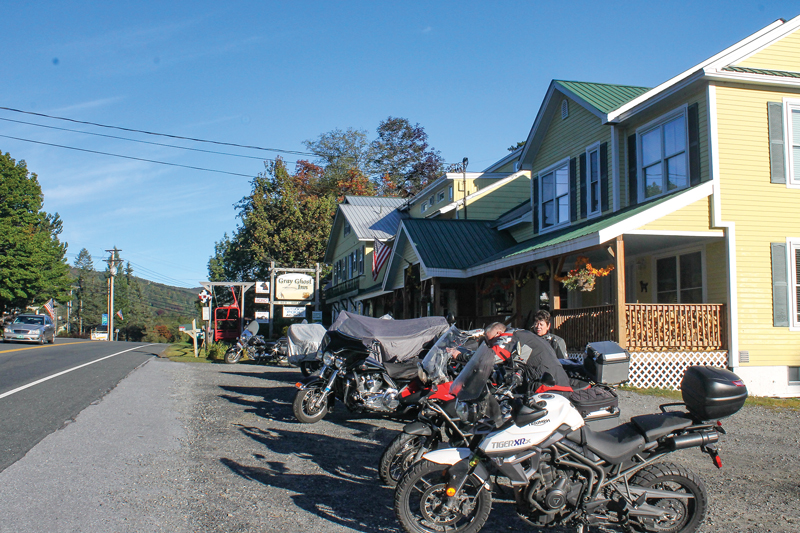 Vermont Route 100 motorcycle ride