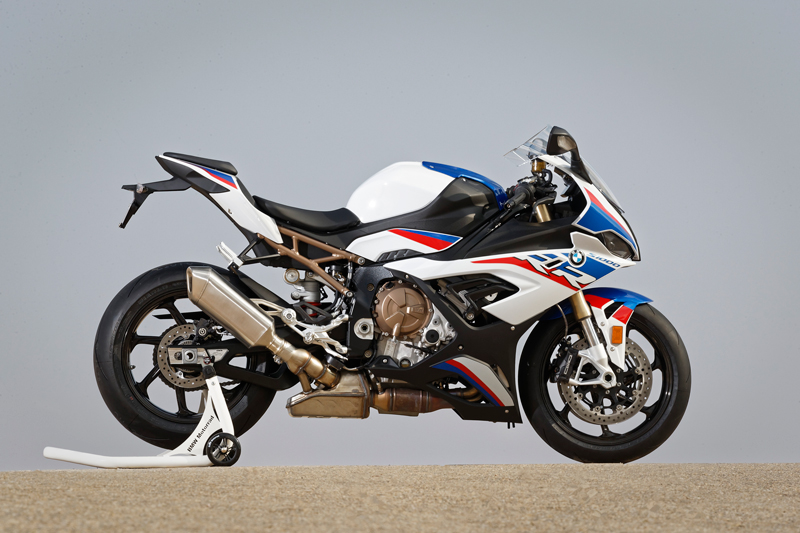 2019 BMW S 1000 RR in Motorsport livery. Images courtesy BMW Motorrad.
