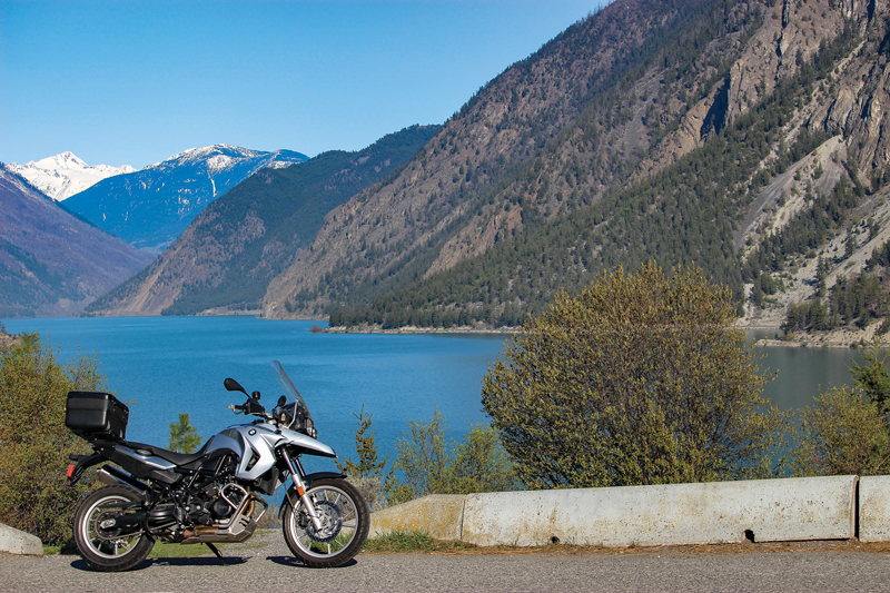 Howe Sound BMW F 700 GS