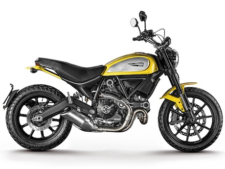 Ducati Scrambler Icon ranges