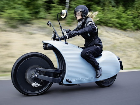 Johammer J1 electric motorcycle hydrogen - own ugly
