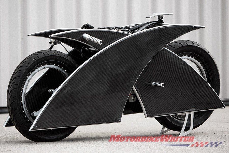 Racer X electric motorcycle