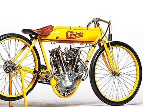 Steve McQueen's Cyclone valuable
