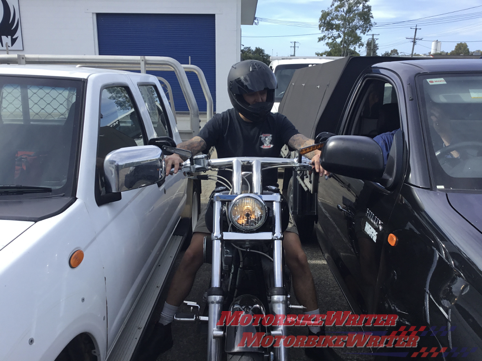 Motorcycle handlebar petition goes federal signatures