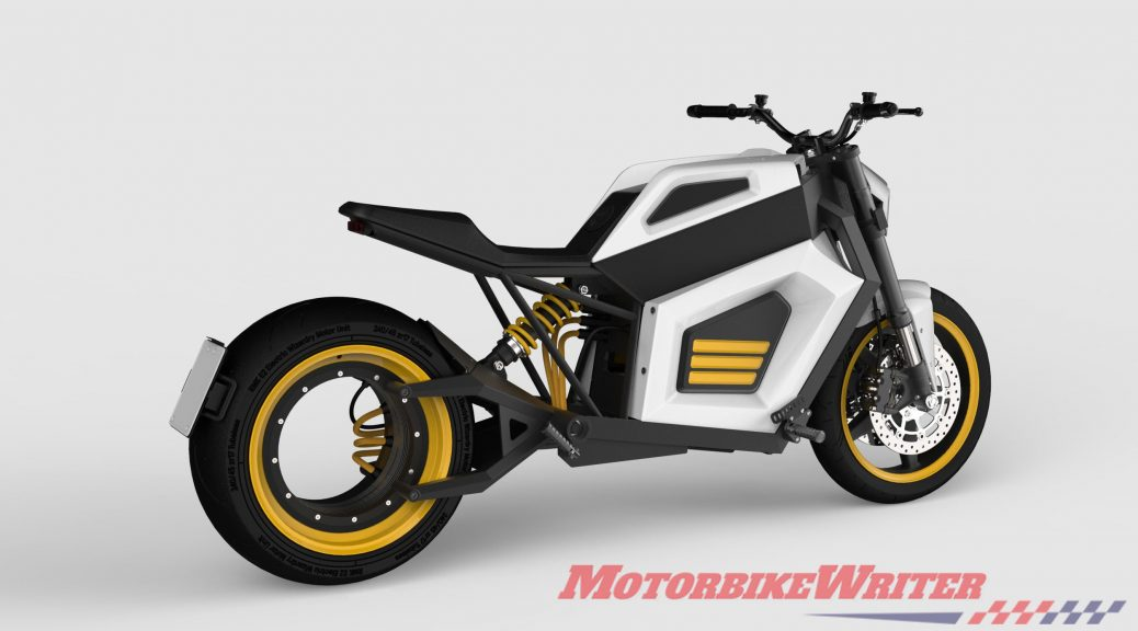 HET electric motor doubles output | Motorcycle News
