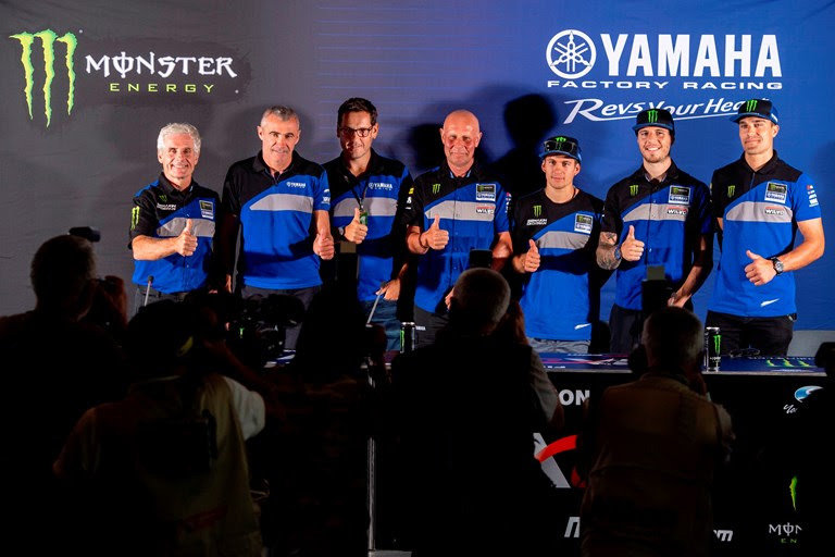 Monster Energy Wilvo Yamaha MXGP and Monster Energy Kemea Yamaha MX