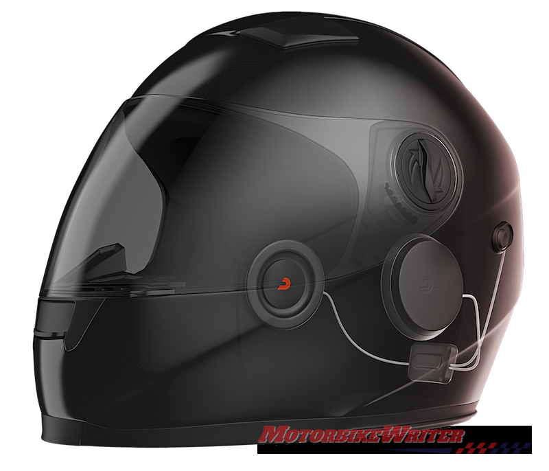 DAAL Active noise-cancelling system for helmets