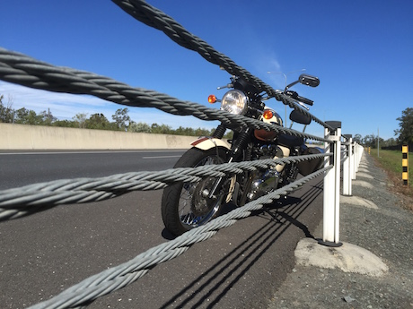 Wire rope barrier better roads austroads report