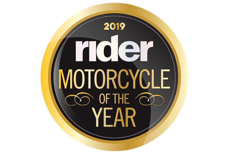 Rider Magazine 2019 Motorcycle of the Year
