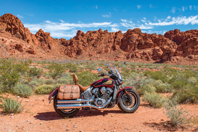 Valley of Fire State Park Indian Scout