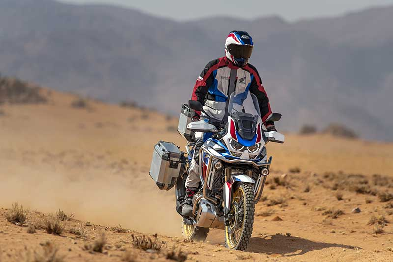 2020 Honda CRF1100L Africa Twin Adventure Sports ES with accessories