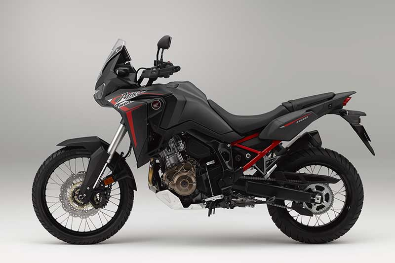 2020 Honda CRF1100L Africa Twin in Matte Black Metallic