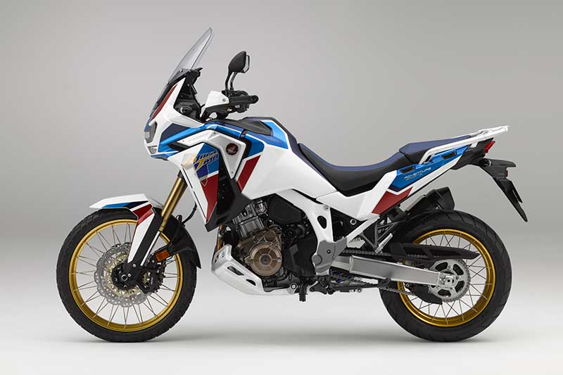 2020 Honda CRF1100L Africa Twin Adventure Sports ES in Pearl Glare White/Blue