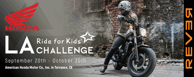 REVER Ride For Kids Honda