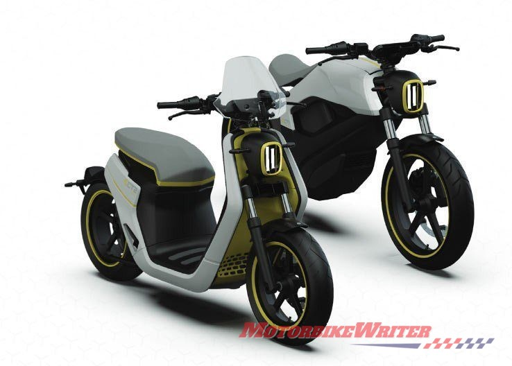 Can-Am electric bikes prototypes