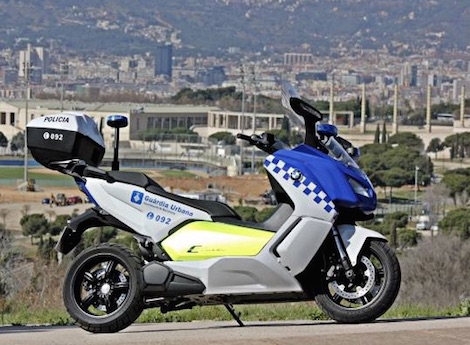 BMW scooter for police
