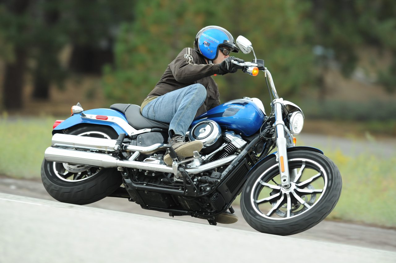 Harley-Davidson Low Rider Softail Dyna electric