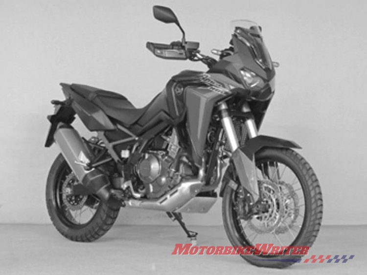 2020 Honda Africa Twin standard and Adventure leaked