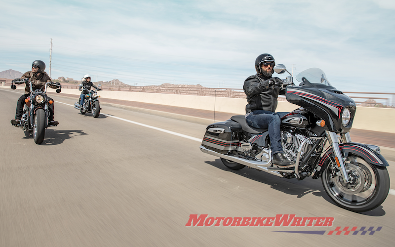 Indian Motorcycle increases engine capacity