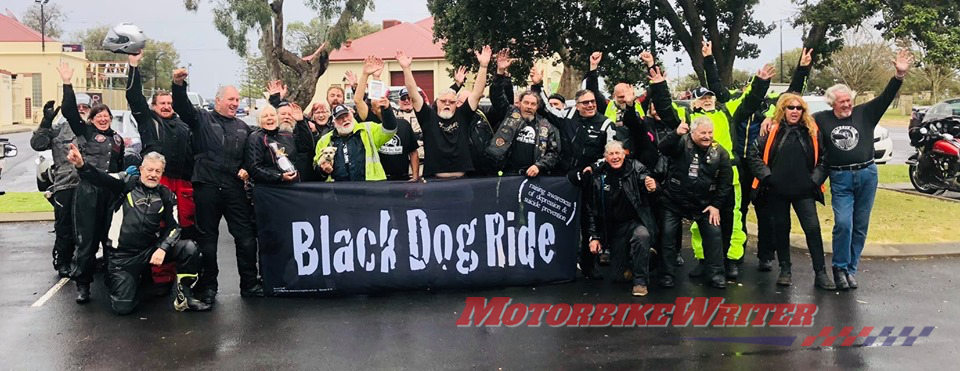Black Dog Ride, depression, dementia, mental illness, suicide, motorcycles, charity