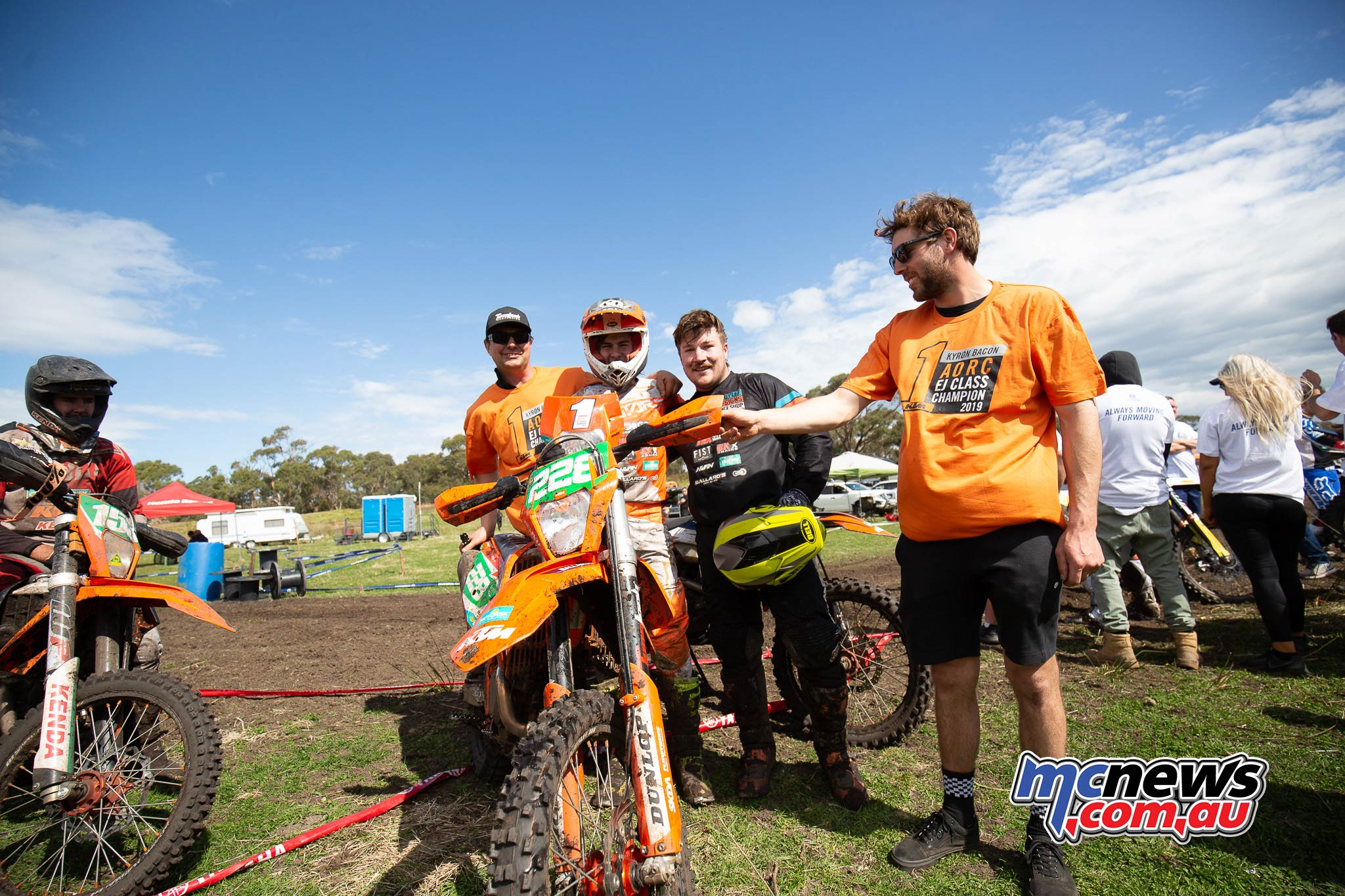 AORC Hedley Kyron Bacon Team