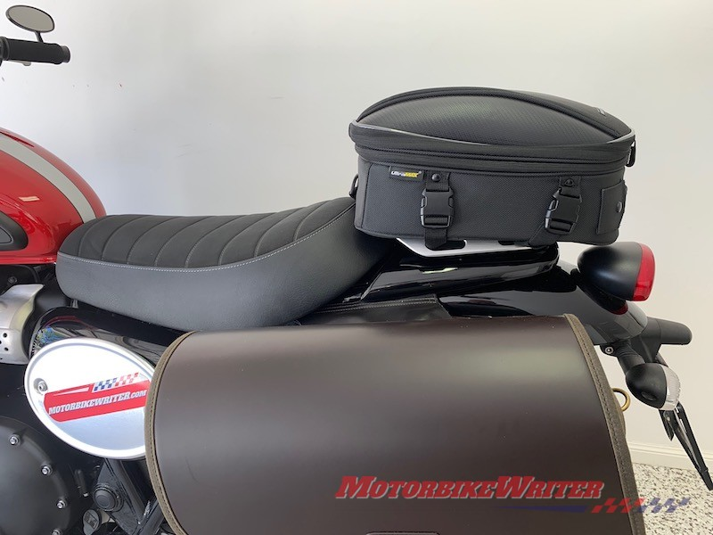 Nelson-Rigg Commuter Lite tail bag review