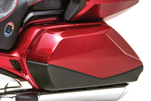 High-Capacity Replacement Doors for the 2018-2019 Honda Gold Wing, from Corbin
