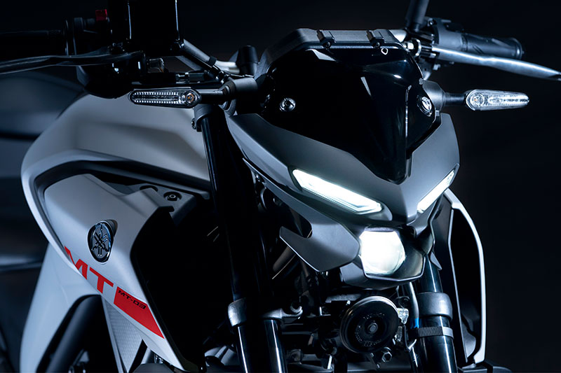 2020 Yamaha MT-03 in Ice Fluo