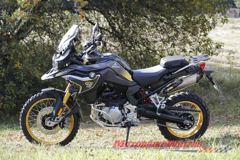BMW F 850 GS Rallye for NZ GS Trophy
