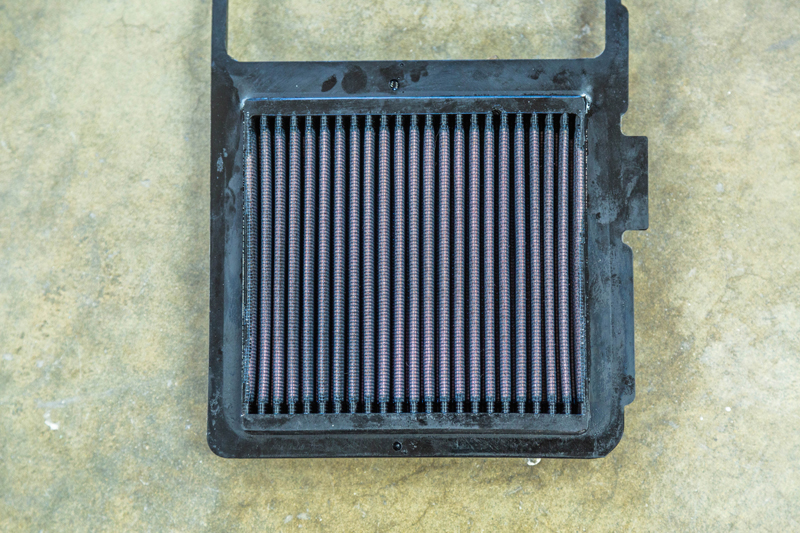 K&N motorcycle air filter