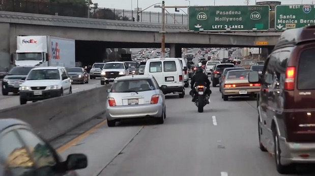 Lane filtering lane splitting
