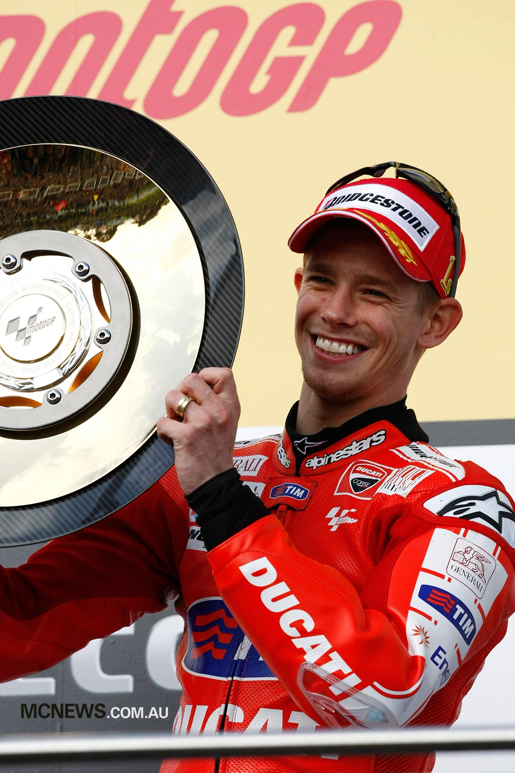 Casey Stoner - Phillip Island 2010 - Image by AJRN