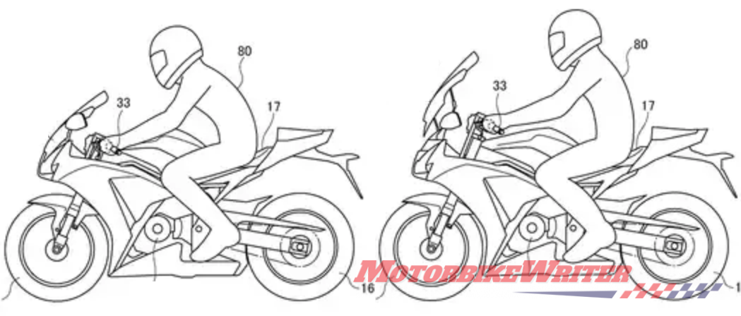 honda patent drum brakes variable riding position emotions