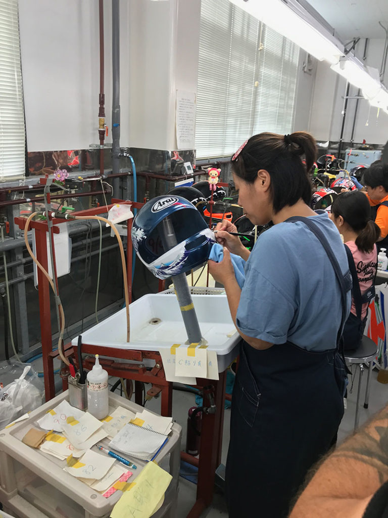 Arai Helmet Factory Tour