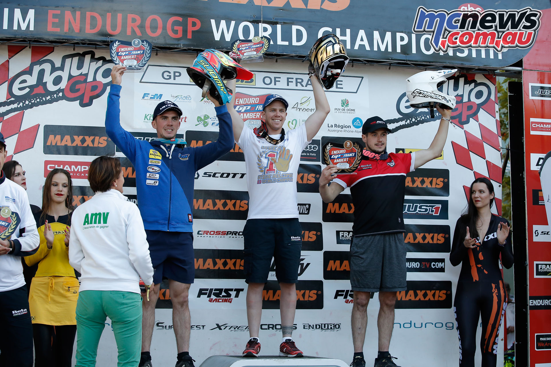 EnduroGP France Podio E Day