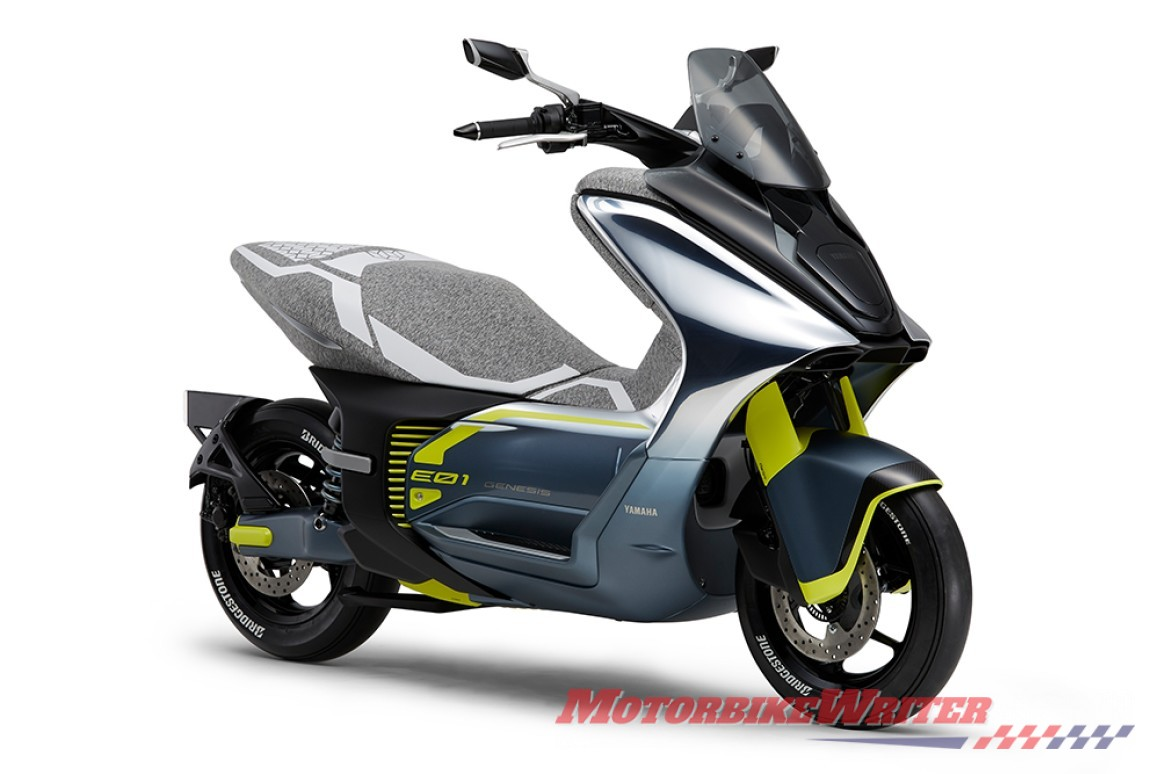 Yamaha E01 electric program