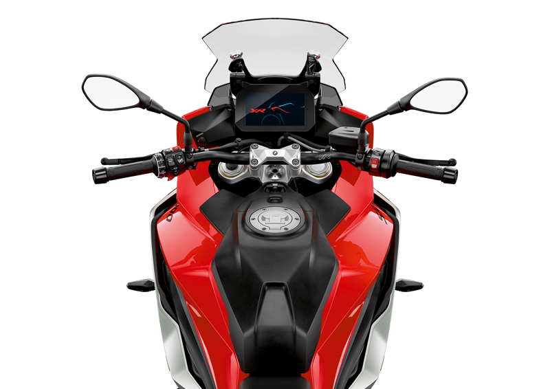 2020 BMW S 1000 XR in Racing Red/White Aluminum