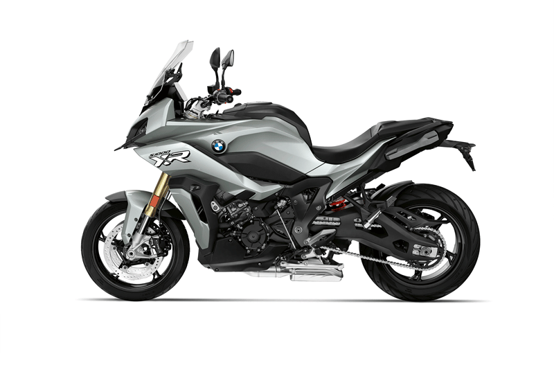 2020 BMW S 1000 XR in Ice Gray.