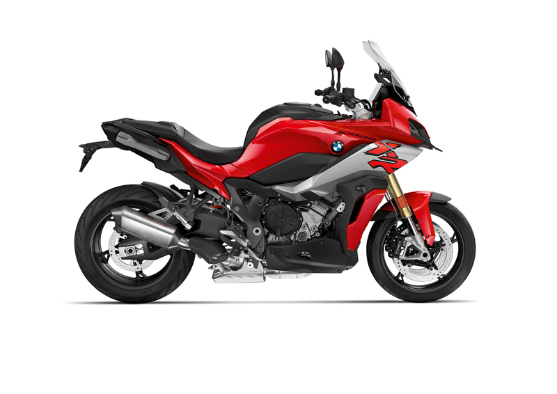 2020 BMW S 1000 XR in Racing Red.