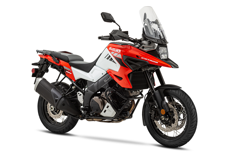 2020 Suzuki V-Strom 1050XT Orange and White