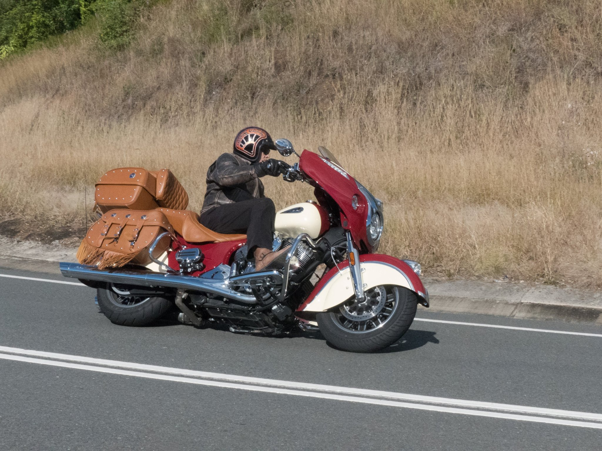 Indian Roadmaster Classic on the Oxley highway wiring issue