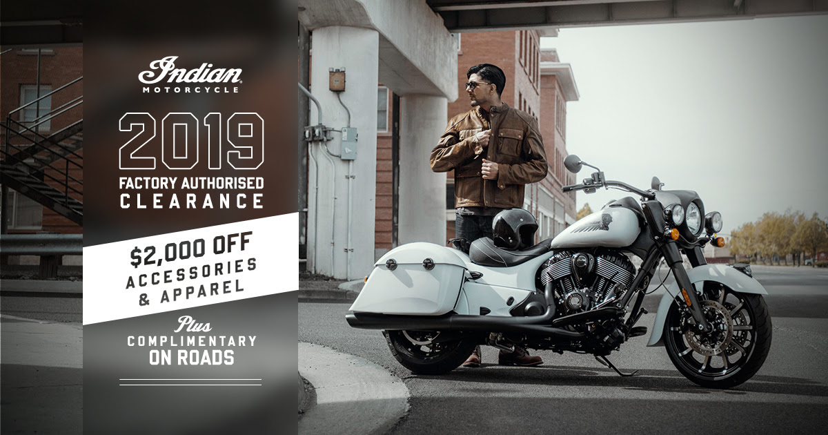 Indian Factory Clearance Springfield Dark Horse
