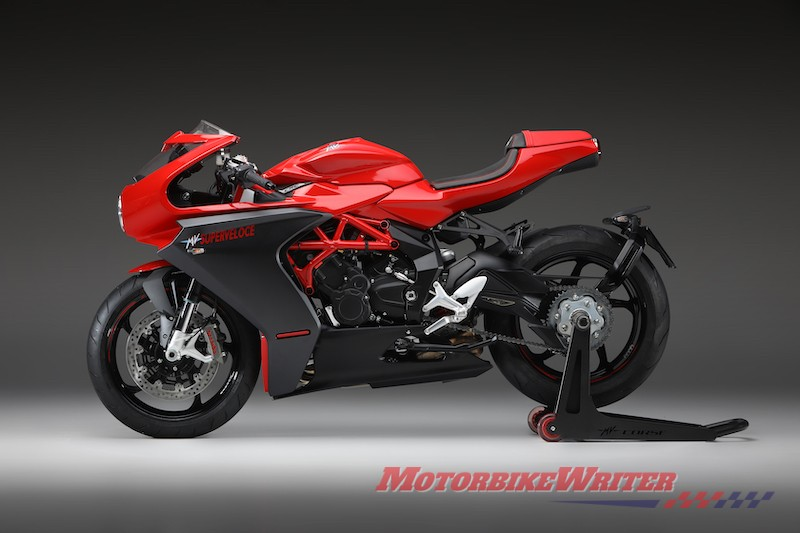 MV Agusta Superveloce model