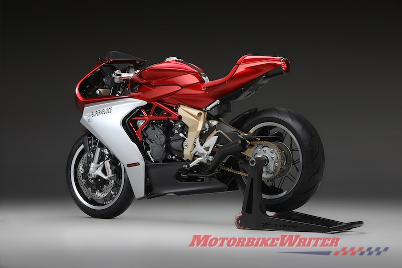 MV Agusta Superveloce Serie Oro model