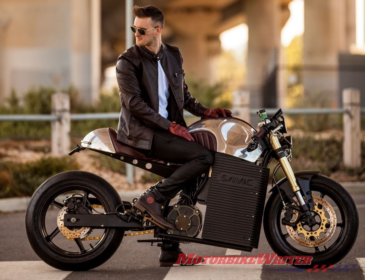 Dennis Savic Orders accepted for Aussie electric motorcycle